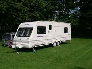2000 Bailey Senator Colorado, 4 Berth, Twin Axle, Double Dinette