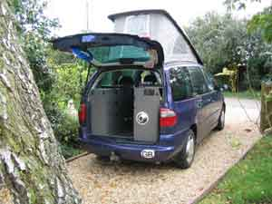 Ford Galaxy Camper Conversion >> 1998 Wheelhome 2 berth conversion on Ford Galaxy 2.8 ghia. for sale