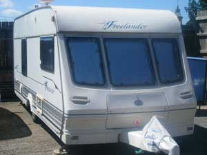 Caravan awnings, tents, camping equipment and accessories