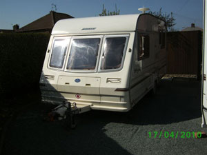 Preloved | bailey pageant 5 berth inculding awning for sale in